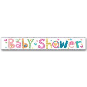 Simon Elvin Baby Shower Large Foil Party Banner