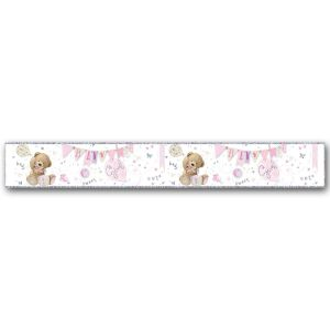 Simon Elvin Baby Girl Large Foil Party Banner