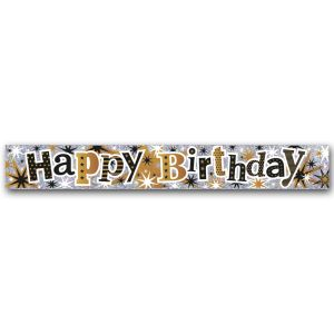 Simon Elvin Happy Birthday Large Foil Party Banner - Male