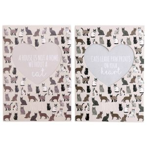 Sifcon Pet Cat A6 Book Bound Notebook, 200 Pages