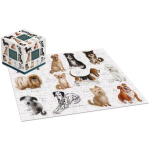 Robert Frederick Patricia MacCarthy Dogs 100 Piece Jigsaw Puzzle Cube