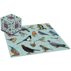 Robert Frederick Patricia MacCarthy Birds 100 Piece Jigsaw Puzzle Cube