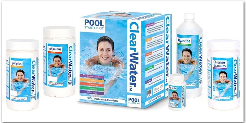 Clearwater Pool Chemical Starter Kit