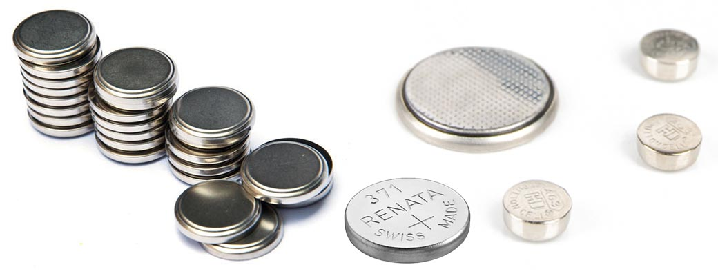 Watch and Coin Cell Batteries