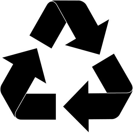 Wham 1.02 14.5cm Non-Compartmental Plastic Organiser Deep Storage Box, Recycled Black/Clear