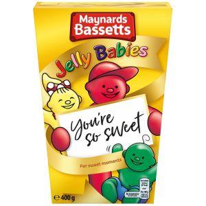 Maynards Bassetts Jelly Babies Box - 400g