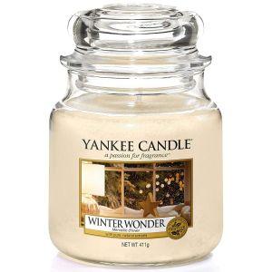 Yankee Candle Winter Wonder Medium Jar Candle