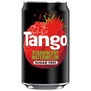 Tango Strawberry and Watermelon Sugar Free Can - 330ml