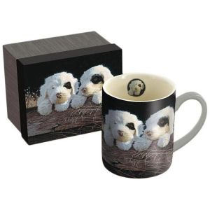 Lang Puppies Ceramic Coffee Mug, Multi