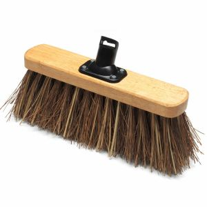 Addis 325mm Bassine Fill Stiff Outdoor Varnished Broom Head