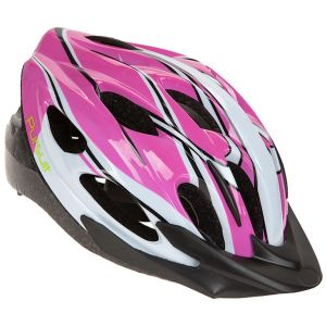 Summit Pursuit Children's Cycle Safety Helmet with Visor, Pink