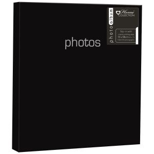 Home Collection Solid Colour 5 x 7 Inch Slip In Photo Album, Holds 104 Photos