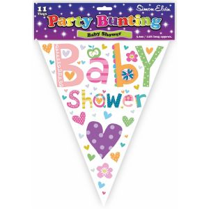 Simon Elvin Baby Shower Foil Party Bunting