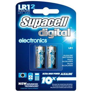 Supacell Digital Alkaline LR1 N Batteries - Pack of 2