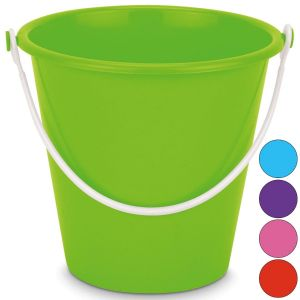Yello Large 8 Inch Neon Round Beach Bucket