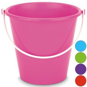 Yello Small 6 Inch Neon Round Beach Bucket