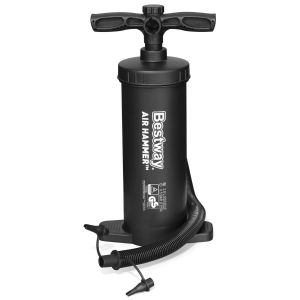 Bestway 14.5 Inch Air Hammer Inflation Hand Pump - Inflates and Deflates