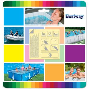 Bestway Underwater Adhesive Repair Patches - Pack of 10