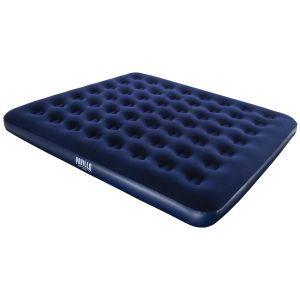 Bestway Pavillo King Size Flocked Air Bed, Blue