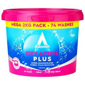 Astonish Oxi Active Plus Super Concentrated Fabric Stain Remover - 2kg