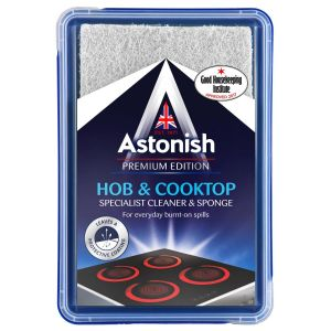 Astonish Specialist Hob & Cooktop Paste Cleaner with Sponge - 250g