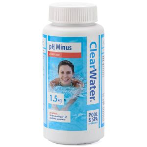 Clearwater pH Minus Decreaser for Pools & Spas - 1.5kg