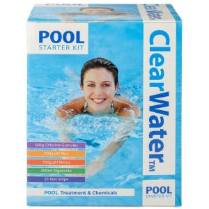 Clearwater Swimming Pool Chemical Starter Kit
