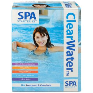 Clearwater Lay-Z-Spa Hot Tub Chemical Starter Kit