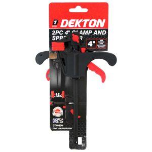Dekton 4 Inch Mini Bar Clamp and Spreader - Set of 2