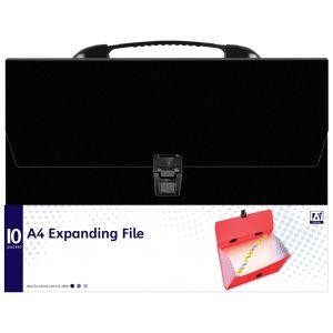 A Star 10 Pocket A4 Expanding Box File