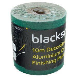 Blackspur Decorator's Aluminium Oxide Finishing Paper, Coarse Grade 60 - 115mm x 10m