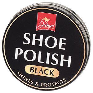 Jump Black Shoe Polish Tin, 80g