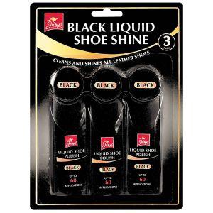 Jump Black Liquid Shoe Shine - Pack of 3