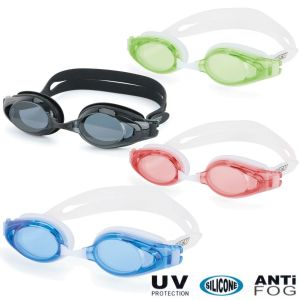 Osprey Optimal Adults Anti Fog UV Protective Silicone Swimming Goggles