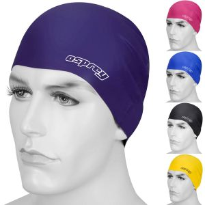 Osprey Adults Silicone Swimming Cap Hat with Storage Pouch