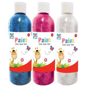 Kids Create Craft Glitter Paint, 250ml