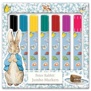 Robert Frederick Peter Rabbit Jumbo Colouring Marker Pens