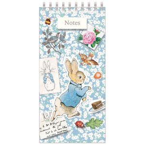 Robert Frederick Peter Rabbit Tall Wiro Notes & Lists Pad