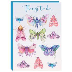 Robert Frederick Pizazz Butterflies Things To Do Sticky Notes Folder