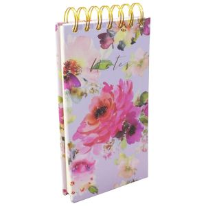Robert Frederick Lilac Bloom Tall Wiro Notes & Lists Pad