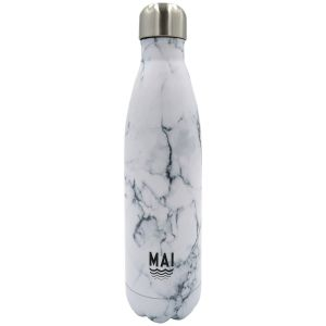 Robert Frederick Mai Sport Marble White Stainless Steel Hydration Bottle - 500ml