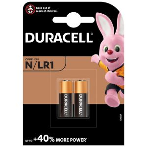 Duracell Alkaline LR1 N Batteries - Pack of 2