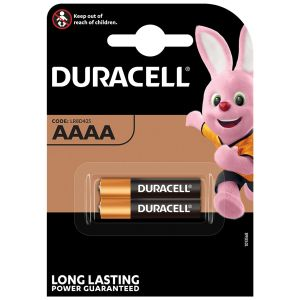 Duracell Alkaline AAAA Specialist Batteries - Pack of 2