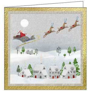 Collisons The Village Luxury Christmas Cards - Pack of 10