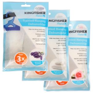 Kingfisher Scented Hanging Wardrobe Dehumidifier