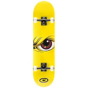 Osprey Wrath Double Kick Tail Skateboard - Yellow, 31 Inch