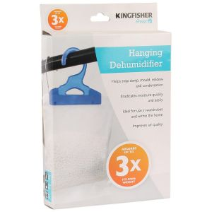 Kingfisher Hanging Wardrobe Dehumidifier