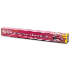 Prowrap Non Stick Baking Paper & Greaseproof Paper, 375mm x 5m