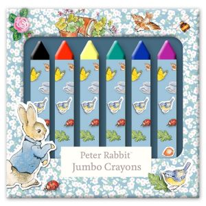 Robert Frederick Peter Rabbit Jumbo Colouring Crayons