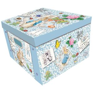 Robert Frederick Peter Rabbit Large Collapsible Storage Box, Multi